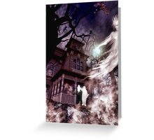 The Haunting of Blackthorne Manor Greeting Card