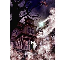 The Haunting of Blackthorne Manor Photographic Print