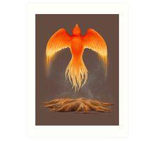 Phoenix Reborn Art Print
