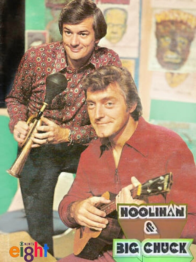 Hoolihan and Big Chuck T-shirt by Brad Warner