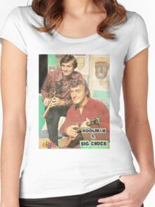 Hoolihan and Big Chuck T-shirt Women's Fitted Scoop T-Shirt