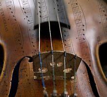 Violin iPhone case by Maree Toogood