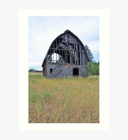 Washington Barn Art Print