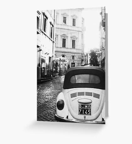 Vintage Rome Greeting Card