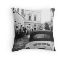 Vintage Rome Throw Pillow