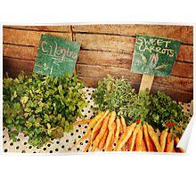 Cilantro & Carrots Poster