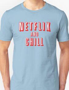 Netflix logo Black T-Shirt