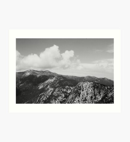 I Wandered Lonely as A Cloud  Art Print