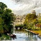 Beautiful Britain - Chaperone at Warwick Castle by Dennis Melling