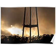 Sutro Tower Sunset Poster