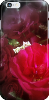 roses and wildflowers 4 by Dawna Morton