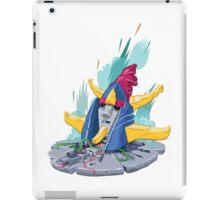 Raydeen destroyed iPad Case/Skin