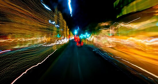 Neon Drive by Paul Louis Villani