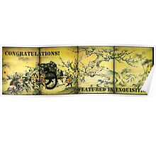 FEATURE BANNER EXQUISITION Poster