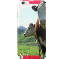 Hereford. iPhone Case/Skin