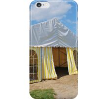 Stripey marquee iPhone Case/Skin