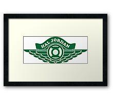 Hal Jordan Framed Print