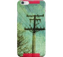 iphone case - textured power pole. iPhone Case/Skin