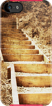 iphone case - stairs. by Lynne Haselden
