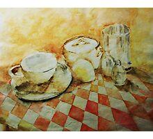 Morning Tea Photographic Print