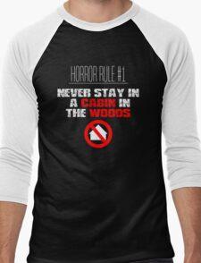 Horror Rule #1 Men's Baseball ¾ T-Shirt
