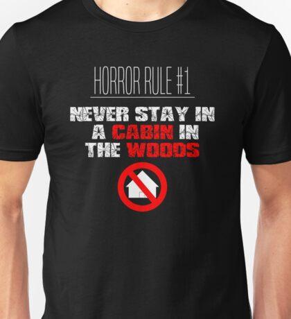 Horror Rule #1 Unisex T-Shirt