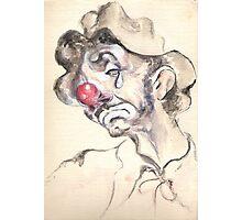 Weiry Willie in Despair Photographic Print