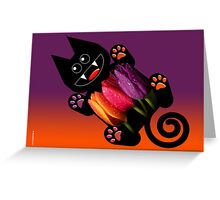 KITTEN 7/10 Greeting Card