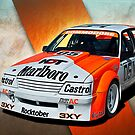 Peter Brock VK Group C Commodore by Stuart Row