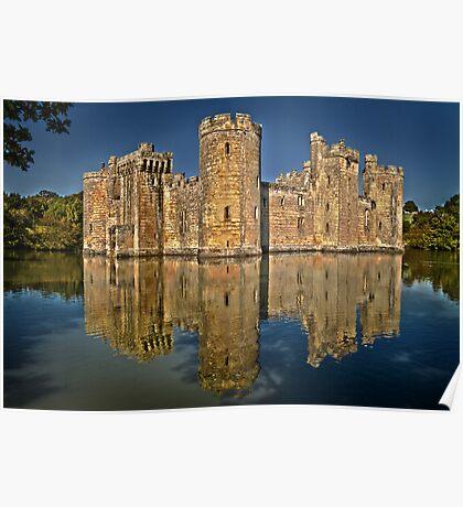 Bodiam Castle HDR Poster