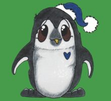 Winter Penguin Baby Tee
