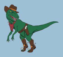 Raptor Rustler (Fastest Claw in the West) Kids Tee