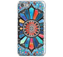 Iridescent Watercolor Brights on Black  iPhone Case/Skin