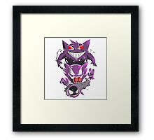 ghost pokemon  Framed Print