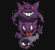 ghost pokemon  by alcomindra