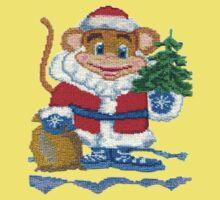 New Year Monkey 2016 Baby Tee