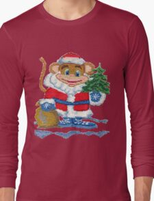 New Year Monkey 2016 Long Sleeve T-Shirt
