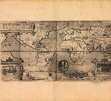 Map of the World (1581) by allhistory