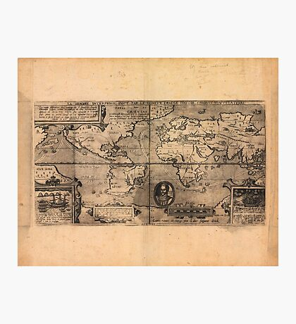 Map of the World (1581) Photographic Print