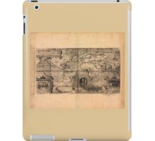 Map of the World (1581) iPad Case/Skin