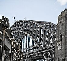 SYDNEY HARBOUR BRIDGE by Russell Charters