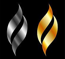 Metallic design elements by Shawlin Mohd