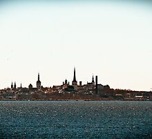 Tallinn Silhouette by tutulele