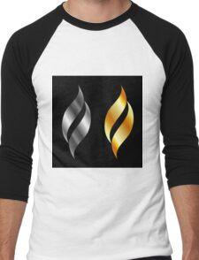 Metallic design elements Men's Baseball ¾ T-Shirt