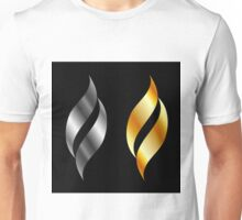 Metallic design elements Unisex T-Shirt