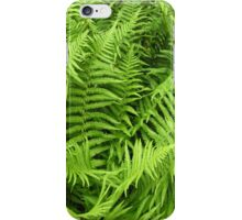 Vibrant green fern for iPhone iPhone Case/Skin