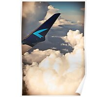 Wings. Clouds. Poster