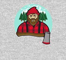 Bearded Lumberjack and axe Unisex T-Shirt