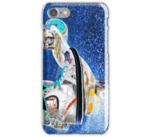 Scootin round the globe iPhone case iPhone Case/Skin