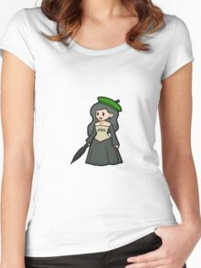 Totoro princesses of the forest Women's Fitted Scoop T-Shirt